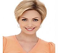 charmoso produto de cabelo curto reta loira peruca syntheic