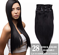 High Quality Human Virgin Hair Clip In Hair Extension for Women