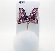 For iPhone 6 Case / iPhone 6 Plus Case Pattern Case Back Cover Case 3D Cartoon Hard PC iPhone 6s Plus/6 Plus / iPhone 6s/6