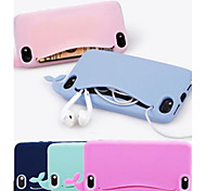 Lovly Silicone Whale Soft Case for iPhone 5/5S (Assorted Colors)