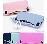 baleine de silicone ravissante étui pour iphone 5/5 ans (couleurs assorties)
