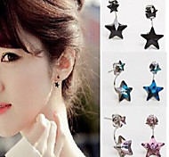 New Arrival Fashional Crystal Star Earrings