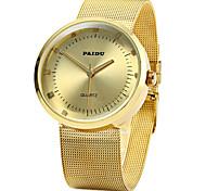 PAIDU 58883 Male Quartz Watch Steel Net Strap Wrist Watch Cool Watch Unique Watch