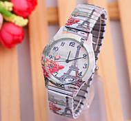 Ladies' Watch Fashion Eiffel Tower Dial Spring Watch