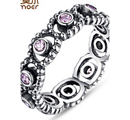 Fashion 925 Sterling Silver Wedding Rings With Crystal For Women Compatible With Fit Original Same Ring Jewelry
