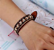 Unisex Leather Handcrafted Vintage Bracelet