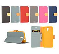 yi tarjeta cai cinturón de cuero bastoncito abierto para d620 htc (colores surtidos)