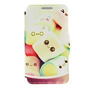 For Huawei Case / P8 / P8 Lite with Stand / Flip Case Full Body Case Cartoon Hard PU Leather HuaweiHuawei P8 / Huawei P8 Lite / Huawei P7