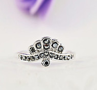 Z&X® Fashiont  Top grade  Alloy / Rhinestone Ring Statement Rings Daily / Casual 1pc