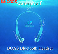 BOAS Sport Bluetooth Wireless Headphones Headset Bluetooth 4.0 For iphone 6 5 5s Samsung s4 s5 Smart Microphone