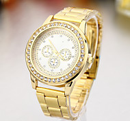 Ladies' Watch Fashion European And American Style Gold Watch