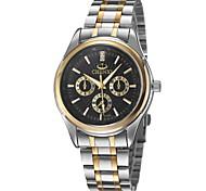 Golden Dawn Luxurious Atmosphere Between Steel Business Watch Men's Fashion Wrist Watch Cool Watch Unique Watch