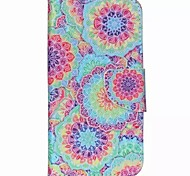 Decorative Pattern Painted PU Phone Case for Wiko Rainbow Up