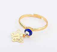 European Style Fashion Eye Butterfly Ring