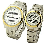 Minimalist steel couple watches (men and women each one)