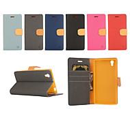 ух Цай держателя карты кожаный ремень вокруг открыт для Lenove Z90 / p70t (ассорти цветов)