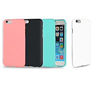 Glossy TPU Soft Cover Case for iPhone 6/6S