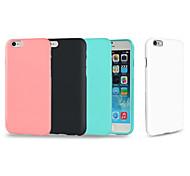 Назначение iPhone 8 iPhone 8 Plus iPhone 7 Plus iPhone 6 iPhone 6 Plus Чехлы панели Защита от удара Задняя крышка Кейс для Сплошной цвет