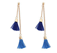 European Style Bohemian Fashion Nails Tassel Earrings