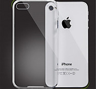 design transparent étui souple pour iPhone 4 / 4S
