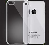 estuche blando diseño transparente para el iphone 4 / 4s