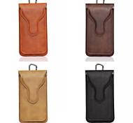 """5.5 """"caso di alta qualità del cuoio del sacchetto tasca universale per vari intelligente per iphone samsung"""