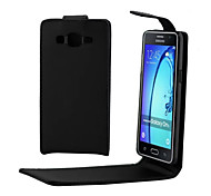 PU Leather Up Down Flip Mobile Skin Case Cover For Galaxy On5/Galaxy J1 Ace/Galaxy J3