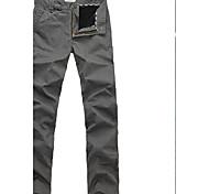 Lesmart Hommes Mince Pantalon Noir / Blanc - MDMK3202