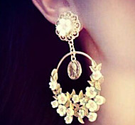 New Arrival Fashional Fresh Flower Earrings