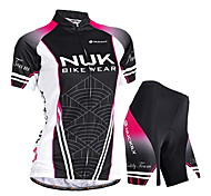 NUCKILY Bike/Cycling Jersey + Shorts / Padded Shorts / Clothing Sets/Suits Women's Short SleeveWaterproof / Breathable / Ultraviolet