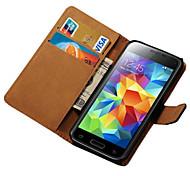 Für Samsung Galaxy Hülle Geldbeutel / Kreditkartenfächer / mit Halterung / Flipbare Hülle Hülle Handyhülle für das ganze Handy Hülle