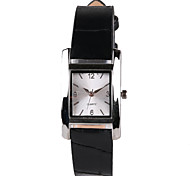 Hot Network Fashion Black Belt Rectangular Ladies Watch