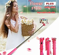 Flower Style Ultra Mini Adjustable Monopod Universal Mobile Phone Holder Selfie Stick