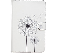 Dandelion Pattern PU Leather Full Body Case TPU With Stand for Samsung GALAXY Tab E SM-T560 SM-T561