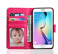Crazy Horse Lines Pattern PU Material With Photo Frame Stent Holster For S7