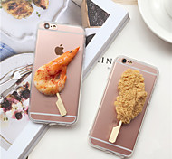 3D Barbecue  TPU Model Phone Cases/Covers for IPhone 6/6s (Assorted Colors)