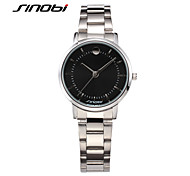 SINOBI Women's Fashion Watch Quartz Water Resistant / Water Proof Alloy Band Silver