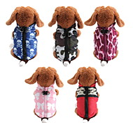 Dog Coats - XS / S / M / L - Winter - Red / Black / Blue / Pink / Purple - Waterproof / Fashion - Cotton