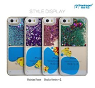 Sanlead Haitian Feast-Ducks Series~1 PC With Powder And Liquid Back Case For Iphone5,5S(Assorted Colors)