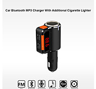 bc09 bluetooth kit de coche manos libres al encendedor de cigarrillos / reproductor de mp3