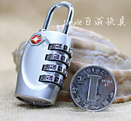 Travel Luggage Lock / Inflated Mat Luggage Accessory Stainless Steel