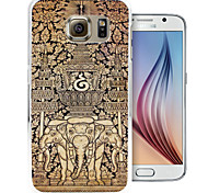 iconografie patroon pc Cover Case voor Samsung Galaxy S6 / S6 rand