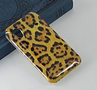 la protección de leopardo patrón de color marrón pc duro caso cubierta trasera para Samsung S5830 Galaxy Ace