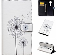 Dandelion Painted PU Phone Case For LG V10