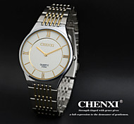 Men's Classic Design Analog Display Stainless Steel Quartz Watch Cool Watch Unique Watch