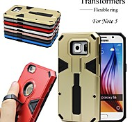 Transformers Metal Ring Back Case For Note 5