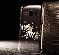 DIY A Zebra Pattern PC Hard Case for Multiple Samsung Galaxy S3/S4/S5/S6/S6Edge/S6EdgePlus/S7