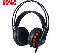 Somic G932 New 7.1 Sound Effect Gaming Headset with Mic & USB LED Light using LBST Tech for PC Gamers