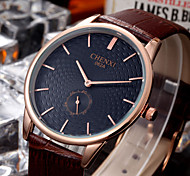 CHENXI®Men's Classic Design Analog Display Leather Strap Quartz Wrist Watch Cool Watch Unique Watch Fashion Watch