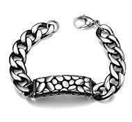 Serpentine Personality Retro Men's Stainless Steel Bracelet